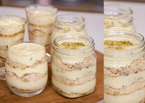 Try this yummy Granadilla Fridge Tart recipe by Grace Stevens!