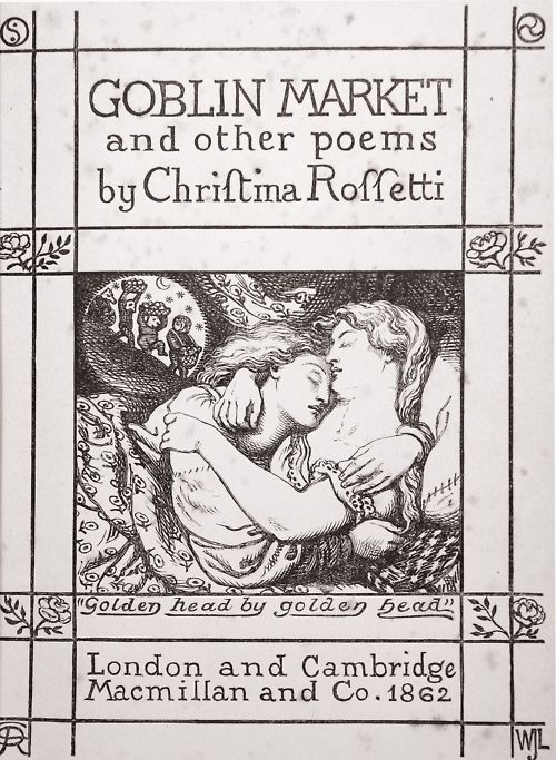 the spiritual and sensual temptations in goblin market a poem by christina rossetti Love and betrayal in the poetry of christina rossetti in 'goblin market' the temptations are resisted and but in rossetti's poem only one of the central.