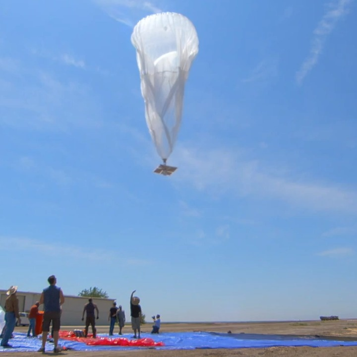 Google Launches Balloons to Bring Wi-Fi to Remote Regions