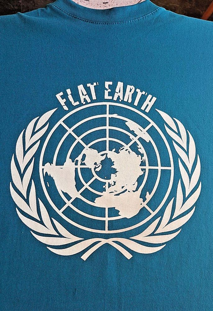 b72f7756a71 Space T Shirts Ideas #spaceshirts #spacetshirts FLAT EARTH T-SHIRT Plain  Earth Global