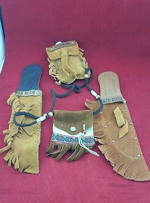 Red River Knife Sheaths Water Canteen Sachel