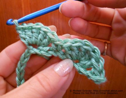 How to Crochet a Shell Stitch