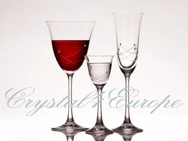 """Poháre na víno, šampanské a  likér """"RM1"""""""