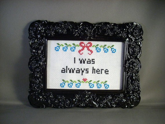 """I was always here  """"Girls"""" by katiekutthroat on Etsy"""