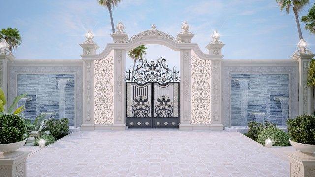 Villa Main Door Entrance Home 55 Ideas For 2019 In 2020 Front Gate Design House Gate Design Home Gate Design