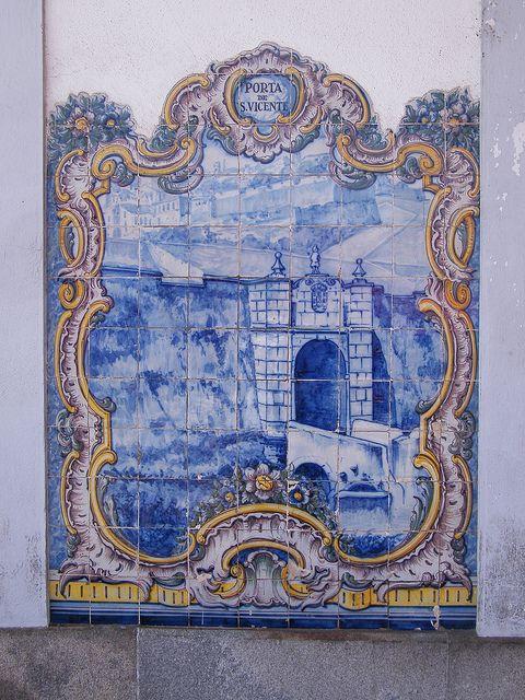 Painel de Azulejos: Porta de S. Vicente - Elvas | Flickr – Compartilhamento de fotos!