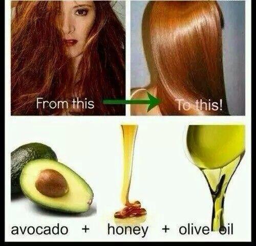 Para hidratar e dá brilho aos cabelos
