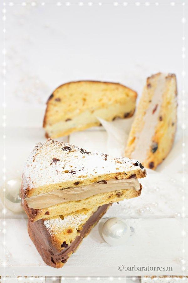 panettone ice cream sandwich