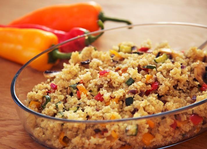 #vegetarian #salad #quinoa #summer #vegetables