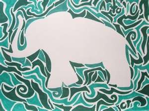 Implied Lines In Art : Best implied line art images stripes