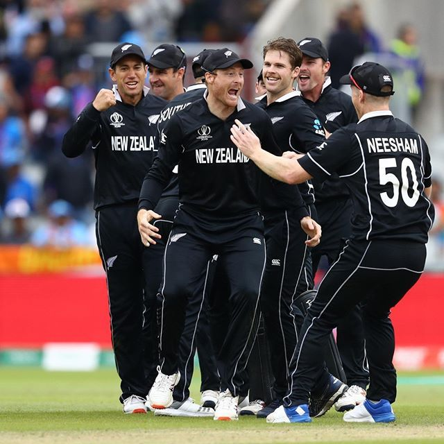 World Cup Kiwis Defeat India In A Thriller To Reach The Final With Images Cricket World Cup World Cup Cricket News