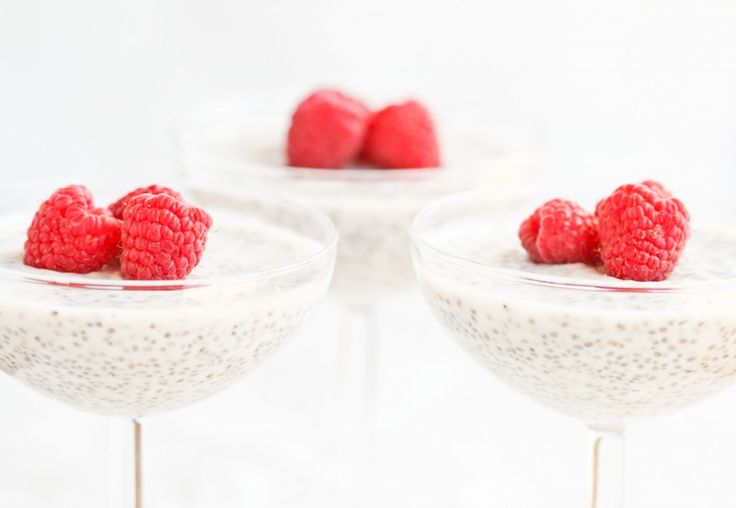 chia seed pudding - a friend of mine recommends using almond milk instead of coconut milk and adding 1 teaspoon of cardamom, which gives it a chai-tea flavor.