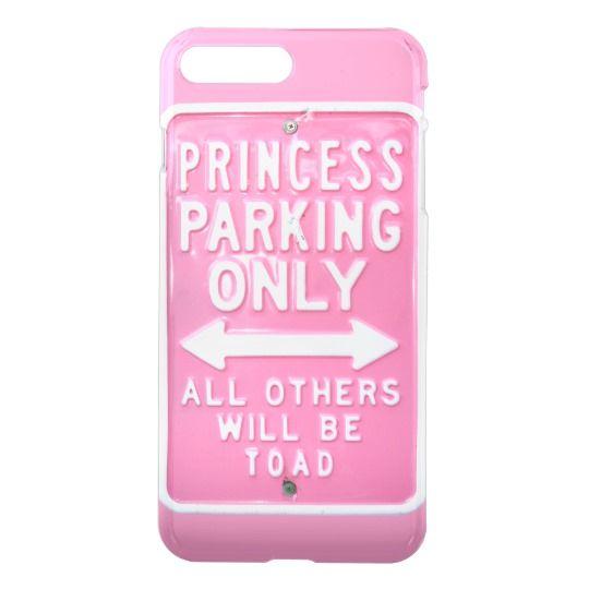 Princess parking only iPhone 7 plus case