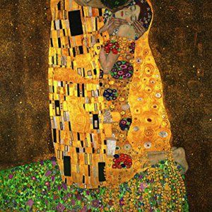 The-Kiss-By-Gustav-Klimt-Canvas-Art-0