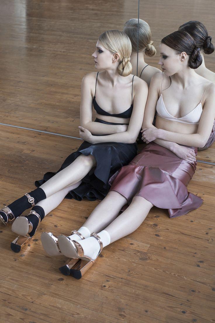 #anniruuth New Collection / Gorgeous shoes from #zalando Photographer: Maria Hästbacka Models: Iris B./ Brand model agency Kaisa H./ Modelboom model agency Make-Up: Hanna Vähäpassi Hair: Essi Tynkkynen