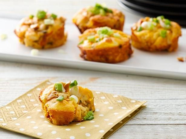 Impossibly Easy Mini Thai Chicken Pies-Add something cheesy to your ...