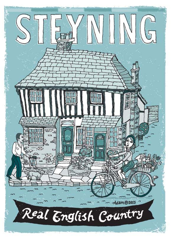 Steyning is a quaint little town in England