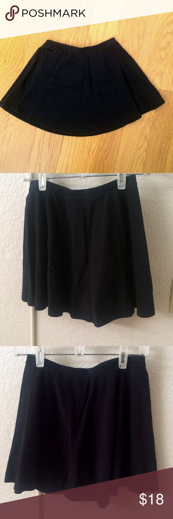 Black Circle Skirt Black circle skirt from PacSun. The tag rubbed off but i bought it from there. PacSun Skirts Circle & Skater