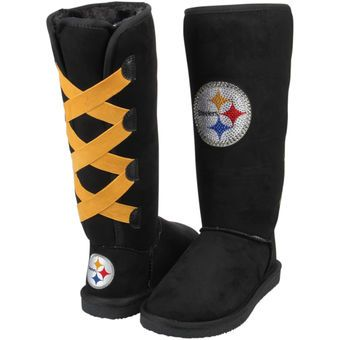 Women's Pittsburgh Steelers Cuce Victor Boots