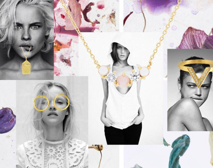 Spring feeling, smukkeste hvisk styling med de pæneste guld smykker. Jeg er forelsket!  #colorfull #hvisk #hvisk #blogger #smykker #jewelry #