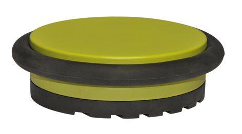 """Den Türstopper-Klassiker aus der Serie """"Big Disk"""" gibt es ab sofort in 4 stylischen Trendfarben: Pure White / Elegant Taupe / Lime Green / Lovely Pink; einfach hinstellen, schön finden und z. B. Türen stoppen, Wände schützen, Böden schonen. http://www.wagner-webshop.com/de/tuerstopper/turstopper-4857.html"""