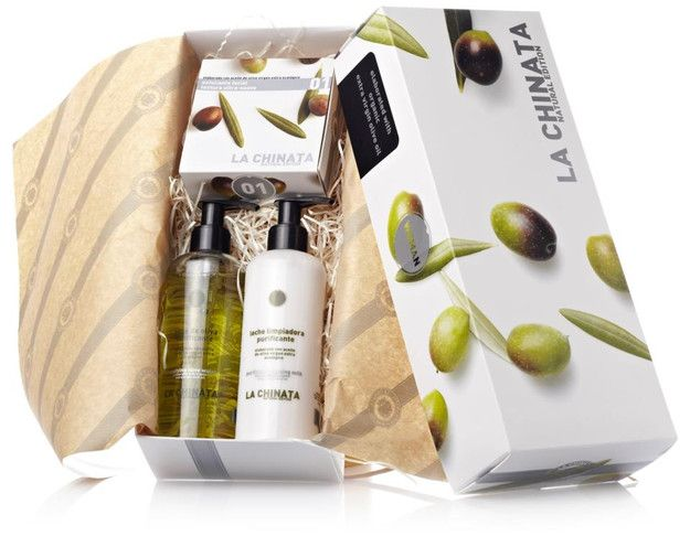 Women's Organic Olive Oil Skin Care Small Gift Set La Chinata | Gift Sets & Travel Kits | Natural Skin Care & Beauty - SPANISH SHOP ONLINE | SPAIN @ your fingertips (€32.00) - Svpply