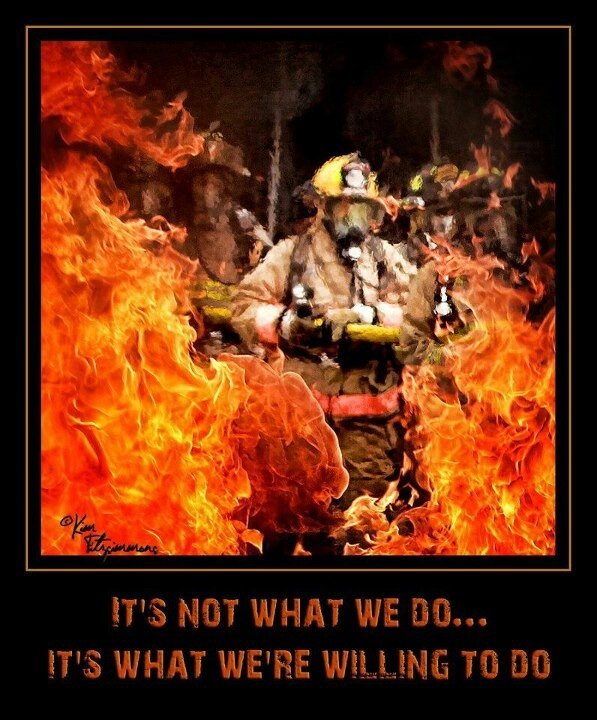 why do i want to be a firefighter
