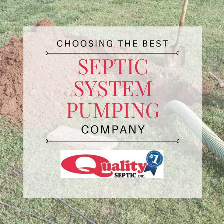 Choosing the Best Septic System Pumping Company