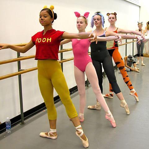 halloween at School of American Ballet