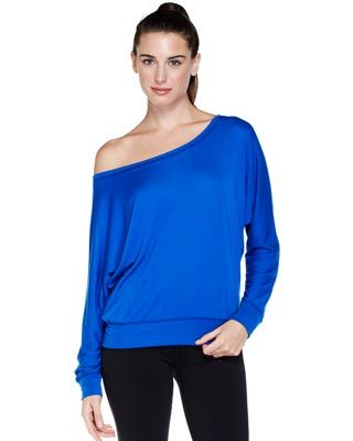 LONG SLEEVE DOLMAN PULLOVER  love this