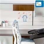 """I Love Music Guy with Notes Wall Decal.  Feel the music with this playful """"I Love Music"""" character with notes.  Place it on your laptop, mirror, or car to remind you to enjoy the moment when listening to your favorite song."""