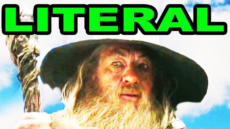 LITERAL The Hobbit Trailer, via YouTube.