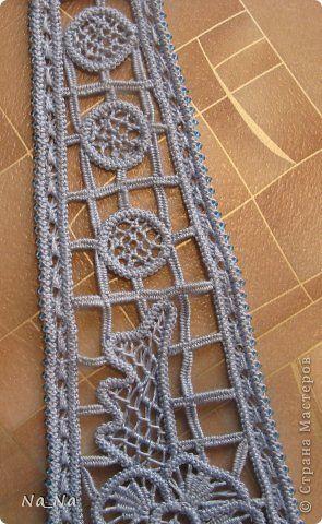 Romanian Point Lace neck tie