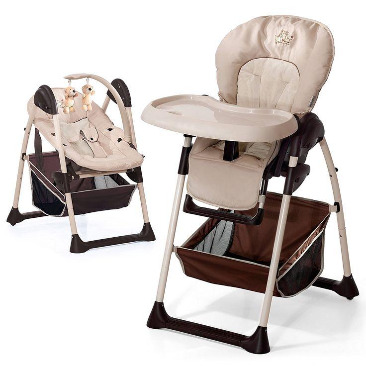 Hauck Sit'n Relax Zoo - Chaise Haute 2 en 1   Convertible en transat, dès naissance, évolutive, réglable en hauteur: Amazon.fr: Bébés & Puériculture