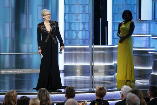 Meryl Streep's provocative Golden Globes acceptance speech
