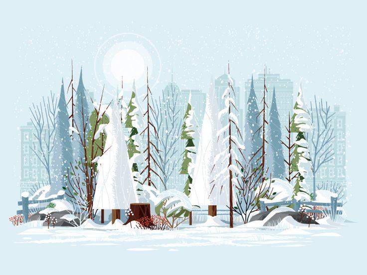 Winter in the City by Matt Carlson
