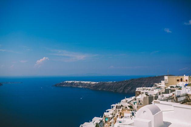 Intimate Santorini Wedding at La Maltese