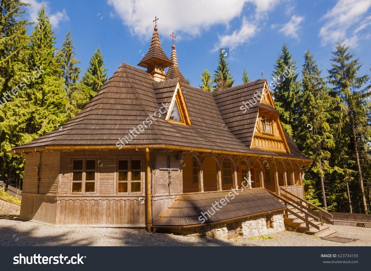 Male Ciche, Poland - August 02, 2013: Sanctuary of Mary in Wiktorowki.