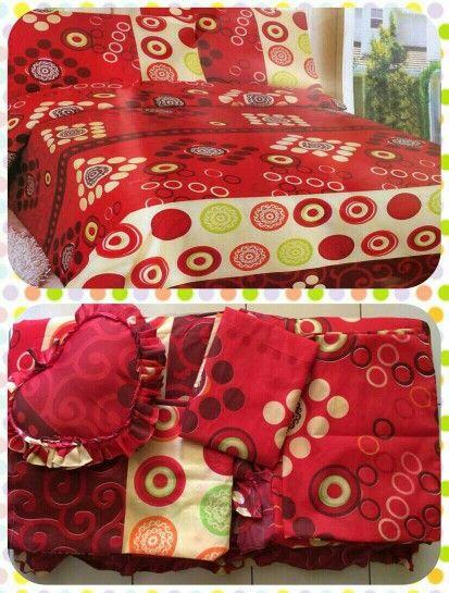 Bedcover king murah only 155rb