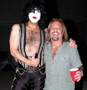 Paul Stanley and Vince Neil 2012 Tour