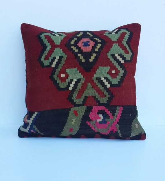 Hey, I found this really awesome Etsy listing at https://www.etsy.com/listing/158104879/hand-made-turkish-kilim-pillow-cover