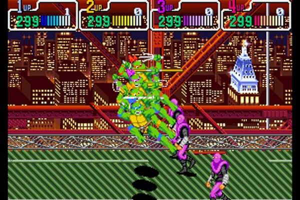 Teenage Mutant Ninja Turtles: Turtles in Time [SNES 1991]