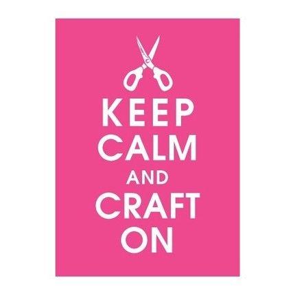 keep calm frame