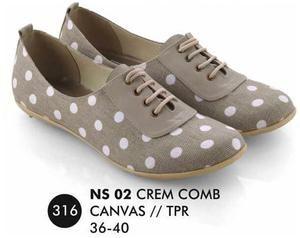 Sepatu Flat Wanita Casual Trendy [NS 02] (Brand Everflow) Free Ongkir