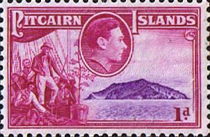 Stamps Pitcairn Islands 1940 SG 2 Fletcher Christian Fine Mint Scott Other Pitcairn Island Stamps HERE