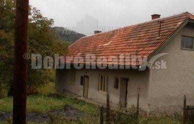 Fotka #1: HRABIČOV - v ponuke na predaj rodinný dom 3 izbový, okres Žarnovica