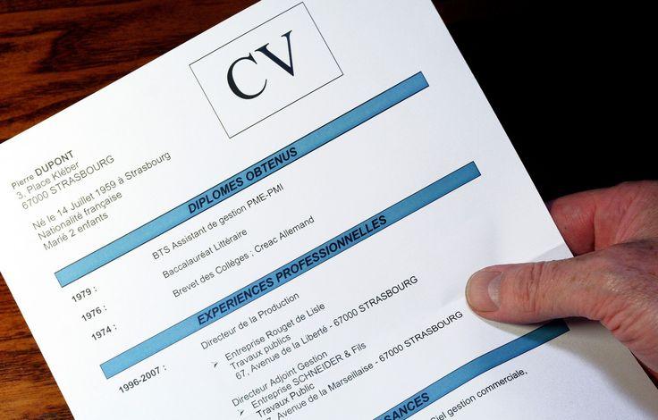 Rédiger un CV