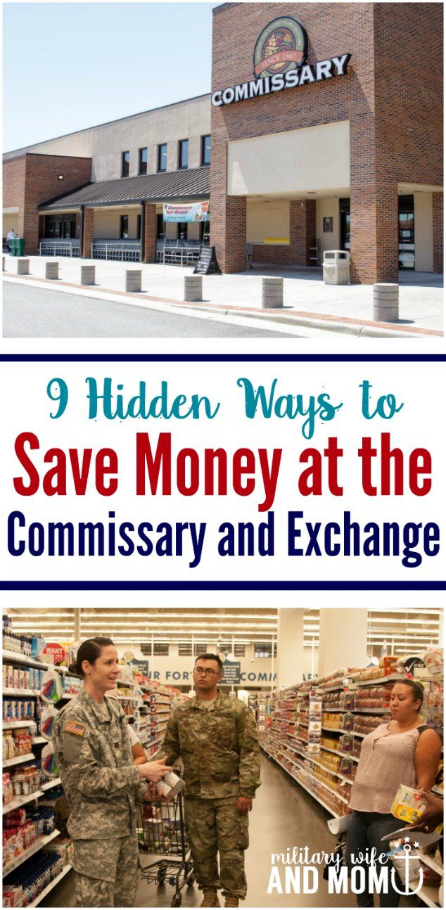 Save money at the commissary and exchange. Great ideas for military families to remember before shopping.  via @lauren9098