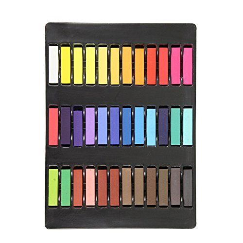 Aoert Hair Chalk   36 Color Temporary Hair Chalk – for Party Entertainment – Lasts up to 3 Days, No Mess Hairstylevids – Videos, Tutorials, Discounts #hair #hairstyle #hairdo #hairproduct