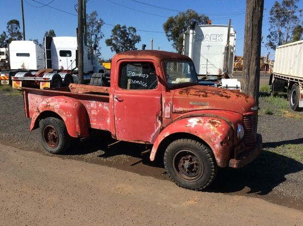 FOR SALE:1950 COMMER PICKUP   for $3,500 . Located in DALBY  QLD.  Contact  for more details.
